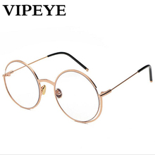 4c074716e79 VIPEYE Retro Men s Metallic Frame For Women Eyeglass Frames. US  10.80    piece Free Shipping