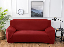 1pc  funda sofa Stretch Furniture Covers Removable covers for living room Armless Slipcover Sofa protector 1/2/4 seater
