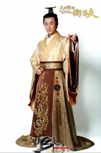 1st Level Hot sales High quality Chinese Classic movie  TV Play  Emperor & Queen Costume Royal Emperor & Empress Hanfu Outfit