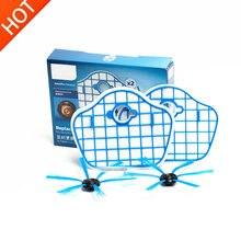 4 stks/set Filter Scherm En Borstel Voor Philips Robot FC8772 FC8774 FC8776 FC8792