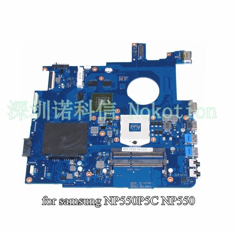 BA41-01898A BA41-01900A For Samsung NP550 NP550P5C Laptop motherboard HD4000+Nvidia GeForce GT650M BA92-09094A BA92-09094B