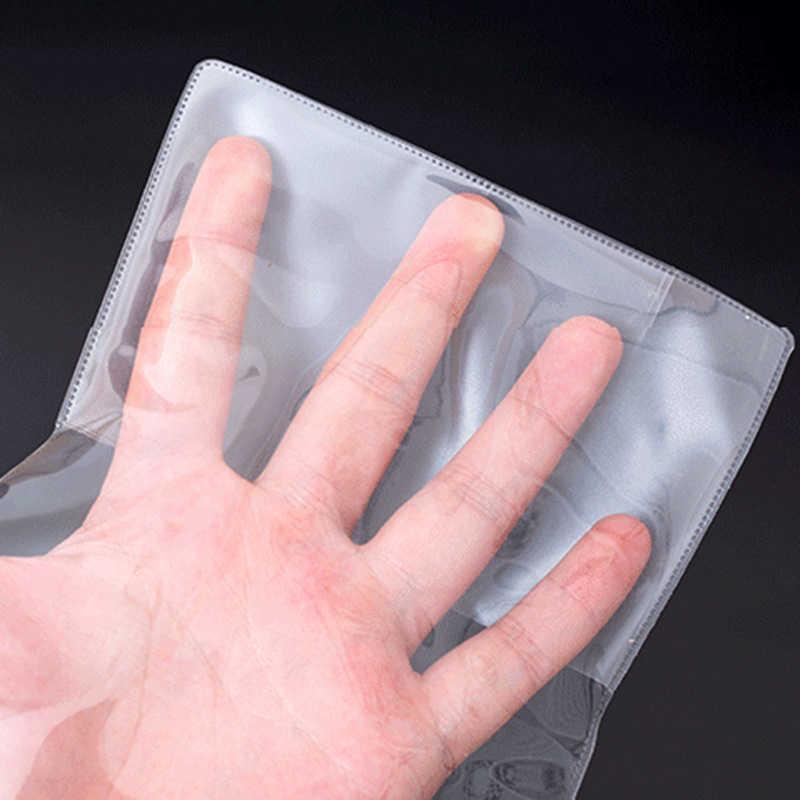 Reizen Transparante Paspoort Cover Voor Vrouwen Mannen Waterdicht Covers Paspoorten Document ID Card Case Pass Houder Protector Pouch