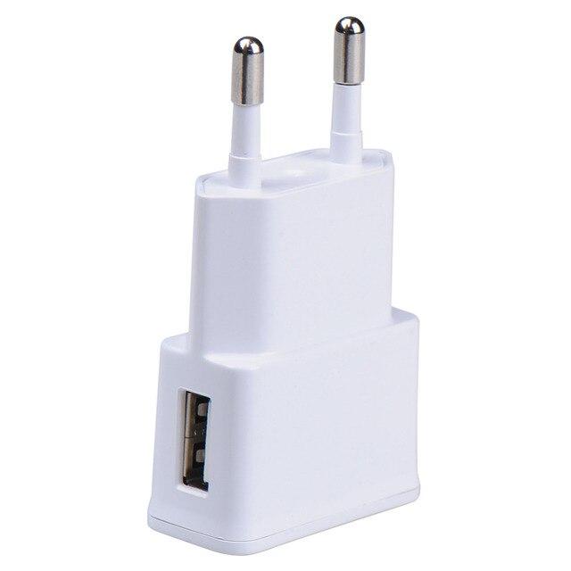 b0f5a2d84 EU Plug Parede Carregador de Viagem Adaptador Para Samsung iPhone UE  Adaptador de Tomada Universal Telefone