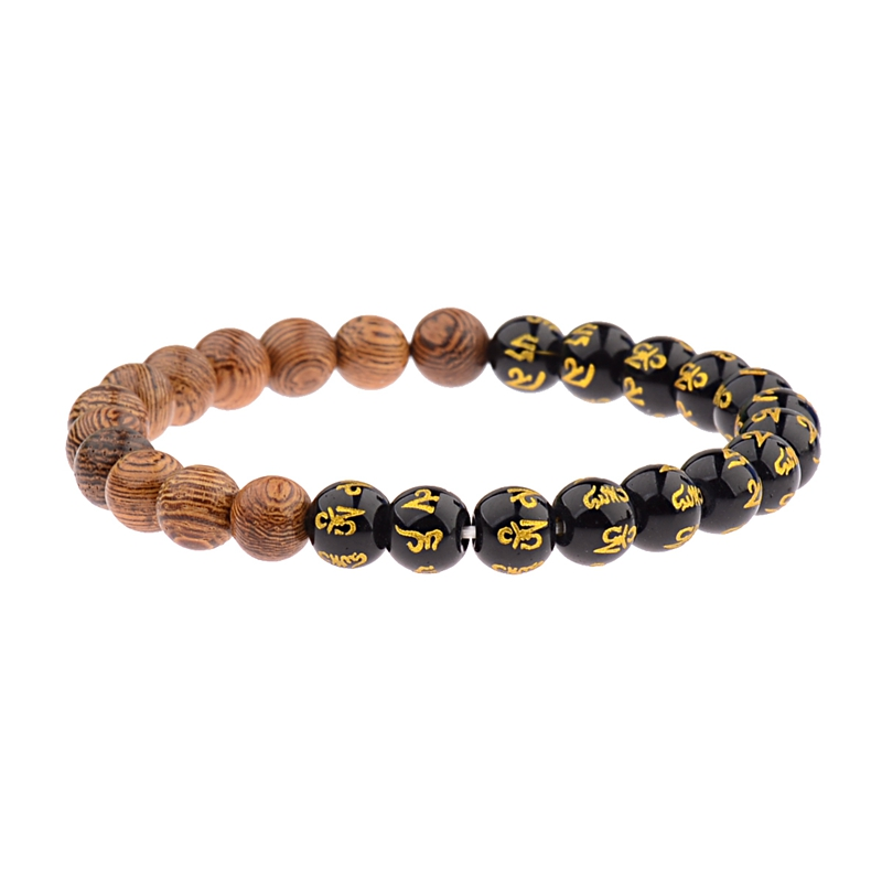 8mm New Natural Wood Beads Bracelets Men Black Ethinc Meditation White Bracelet Women Prayer Jewelry Yoga Bracelet Homme HTB1ZjXSFr1YBuNjSszeq6yblFXae