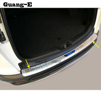 혼다 용 CRV CR-V 2017 2018 2019 2020 자동차 외부 외부 후면 범퍼 패널 트렁크 트림 커버 스테인레스 스틸 플레이트 페달