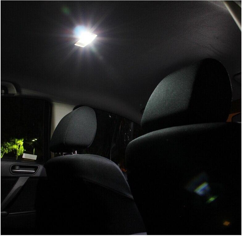 Free Shipping 8Pcs/Lot 12v car-styling Xenon White/Blue Package Kit LED Interior Lights For 13-14 Honda Civic