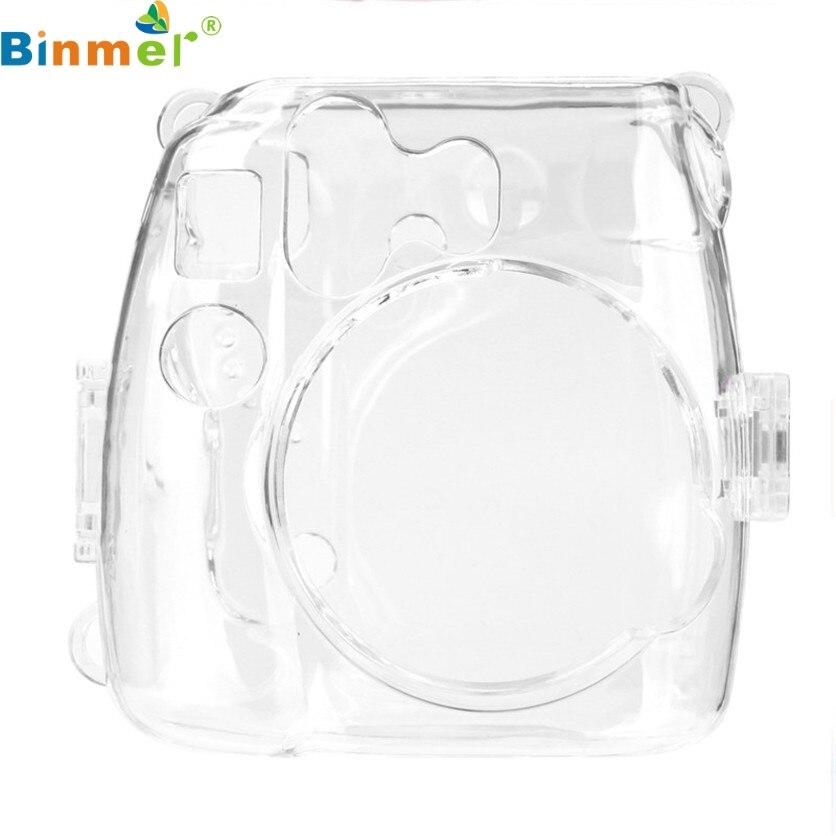 Il Migliore Binmer Simplestone Sottile Crystal Clear Dura Del Pc Della Copertura Di Caso Per Fujifilm Instax Mini8 Macchina Fotografica May26