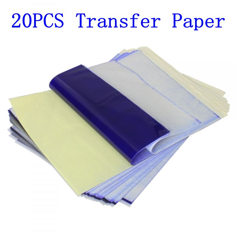 20pcs tattoo stencil transfer paper a4 size thermal copier for Tattoo transfer paper