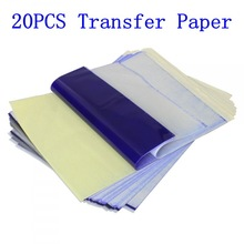 20pcs Tattoo Stencil Transfer Paper A4 Size Thermal Copier Paper Supplies Tattoo Accessories For Tattoo Supply Free Shipping недорого