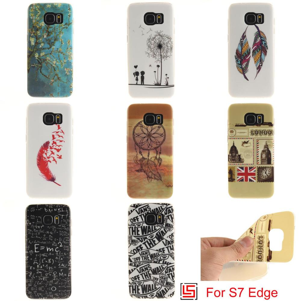 Ultra Thin TPU Silicone Soft Phone Cell Case coque Cover Cove For Samsung Sumsung Sansung Galaxy Galaxi S7 Edge SM-G935F