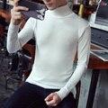 Трикотажные зимой свитер мужчин бренд S932autumn зимние мужские водолазка slim fit модные мужские свитера стильный потяните homme