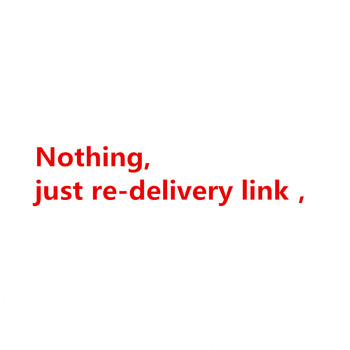 Nothing at all, just re-delivery link,Please do not place an order image