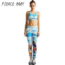 Blue Color Women s Yoga Clothing Set Woman Sexy Yoga Clothing Fitness Sports Clothes For Women