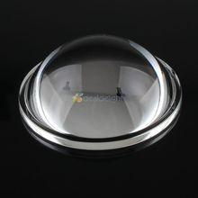 50 мм прозрачный высокой мощности светодиодный линзы коллиматор Отражатель 5-90 градусов для 10 Вт/20 Вт/30 Вт/50 Вт/60 Вт/80 Вт/100 Вт Светодиодный светильник