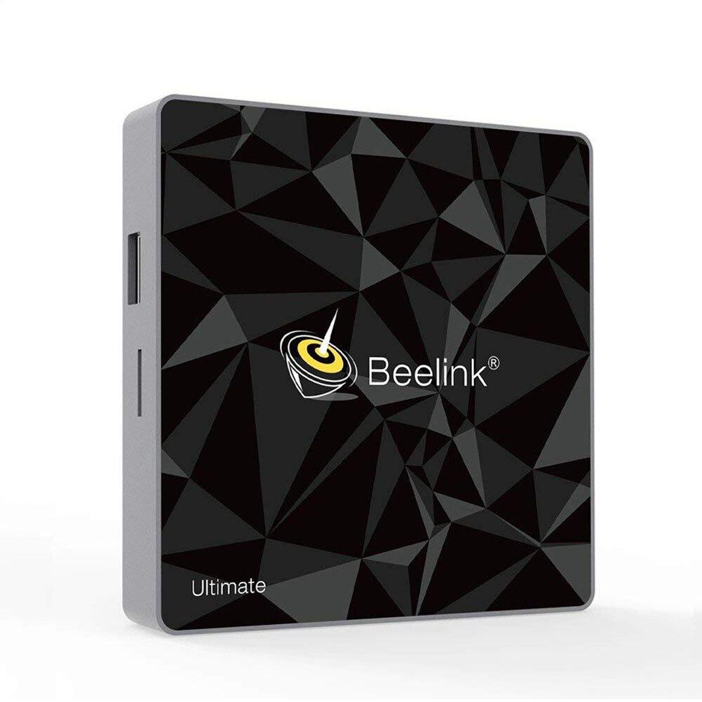 Beelink GT1 ultime Android 7.1 TV Box 64 Bits DDR4 3GB eMMC 32GB avec Amlogic S912 1000Mbps LAN/double WiFi 2.4G + 5.8G/H.264/H.
