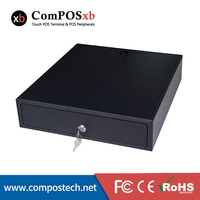 Three position lock pos Cash Drawer with RJ11 interface cash register 4 bill 8 coin for supermarket