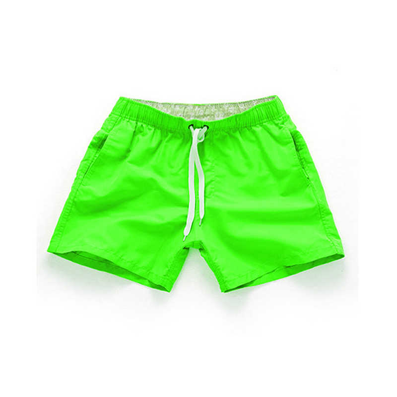 Summer Shorts Casual Mid Taille Beach Shorts Solid Straight Trekkoord Shorts Vier Kleuren S-2XL