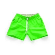 Summer Men's Shorts Casual Mid Waist Beach Shorts