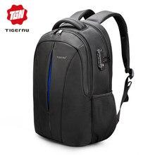 2a727908ccc Tigernu Merk Waterdichte 15.6 inch Laptop Rugzak GEEN Sleutel TSA Anti  Diefstal Mannen Rugzakken Reizen Tiener