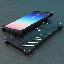 Metal Case For Samsung Galaxy A9 Star Hard Cover Lite Shockproof Shell Heat Dissipation Cool Sports+Straps+Stand Holder