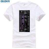 Custom T Shirts Online Gildan O Neck Short Sleeve Office Acid Edm Rave House Music Synthesizer