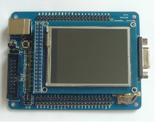 Free Shipping!!! ARM Cortex-M3 STM32F103VET6 STM32 development board  WITH 2.4TFT Touch LCD ScreenFree Shipping!!! ARM Cortex-M3 STM32F103VET6 STM32 development board  WITH 2.4TFT Touch LCD Screen
