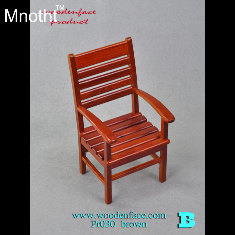 [Only a chair]1/6 Soldier Model Scene Accessories Toys Wood Armchair Fit 12'' Action Figure