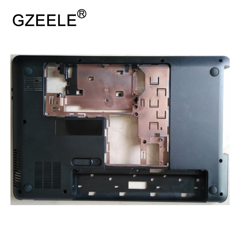 GZEELE New Laptop Bottom Base Case Cover for HP Pavilion G4 G4-1000 g4-1360la Base Chassis D Case shell lower case black new case cover for lenovo g500s g505s laptop bottom case base cover ap0yb000h00