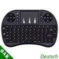 I8 Deutsch Version Tastatur Deutsch i8 + 2 4 ghz Mini Wireless Keyboard Air Maus mit TouchPad für Android TV Box /Mini PC-in Tastaturen aus Computer und Büro bei