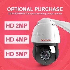 Image 2 - New 4.5 Inch HD 1080P 4MP 5MP PTZ IP Camera Outdoor Network Onvif Speed Dome 30X Zoom Lens PTZ Camera CCTV 150m IR Night Vision