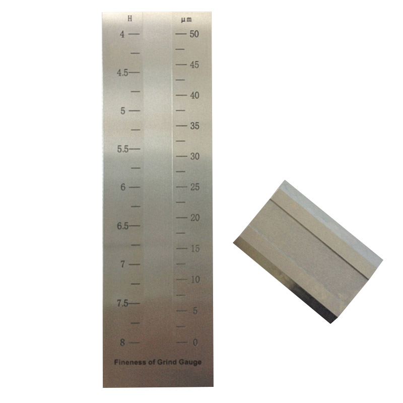 Division Value 2.5um Single-groove Hegman Gauge For Coating BGD241/2 (0-50um)