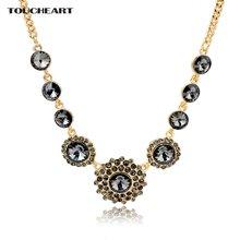 Трендовые бусины золотистого цвета toucheart эффектные ожерелья