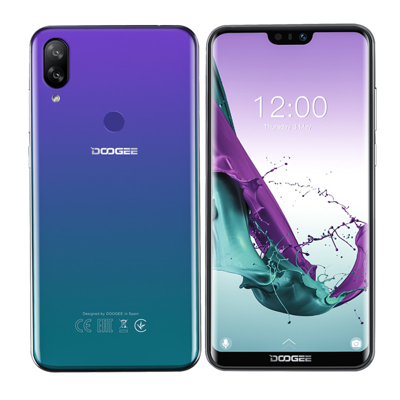 DOOGEE N10 3GB 32GB handy Android 8.1 Octa-Core 5,84 ''FHD + 19:9 <font><b>Display</b></font> 16.0MP Vorne kamera 3360mAh 4G LTE Smartphone image