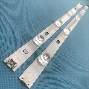 "Image 1 - LED Backlight strip For LG 47"" inch TV 9 Lamp innotek DRT 3.0 LG47lb5610 6916L 1715A 1716A LG47LY340C LG47GB651C 2 pieces / lot"