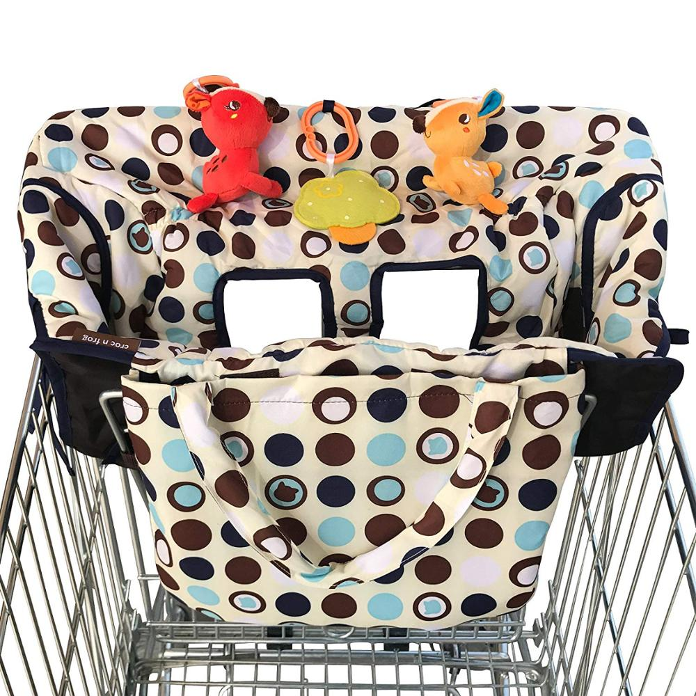 2-in-1 Shopping Cart Cover High Chair Cover For Baby Medium Size