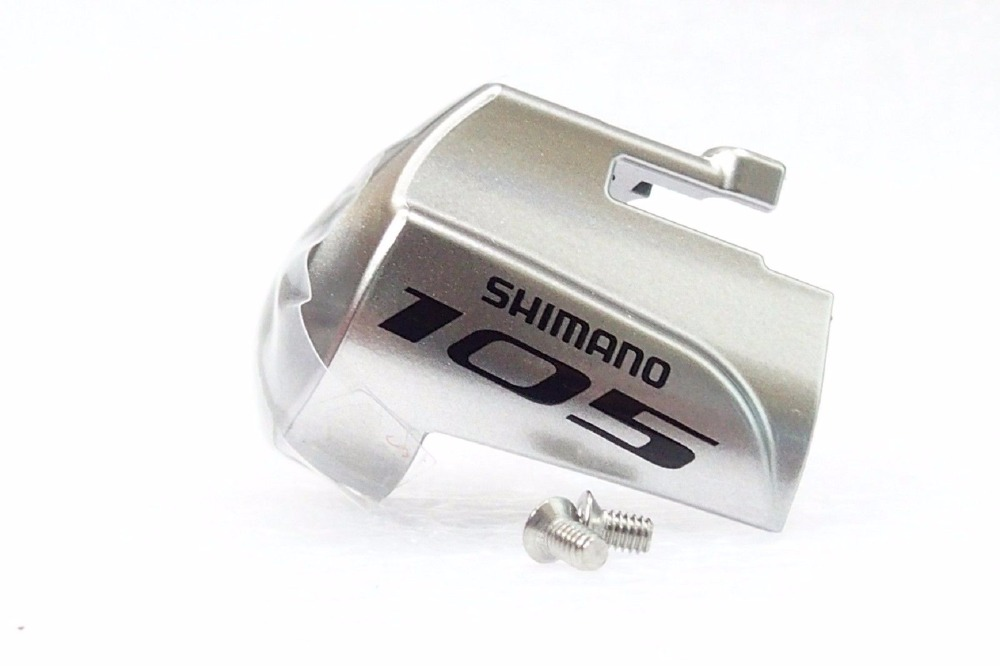 Shimano 105 ST-5800 ST-5700 3500 4700 5800 6800 6870 9000 9001 Left right Hand Name Plate w/ Fixing Screw Silver цена