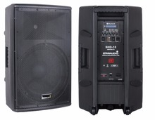 STARAUDIO 15 Inch Class D Active Powered Pro PA DJ 4000W 4-Ohm 2-Way Stage Audio Bluetooth Speaker  SHD-15