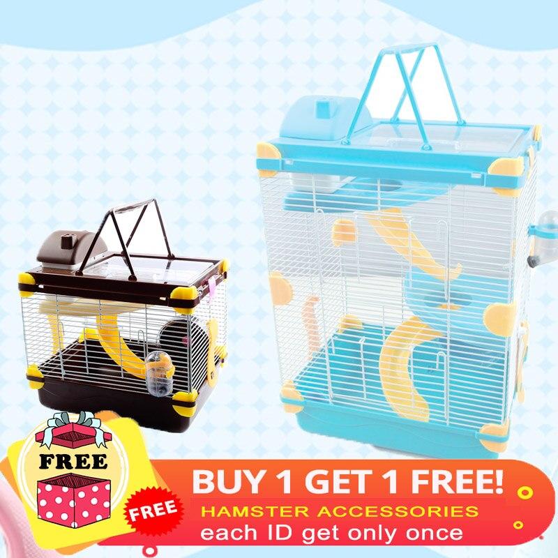 Envío gratis promocional jaula de hámster multicolor Incremento - Productos animales