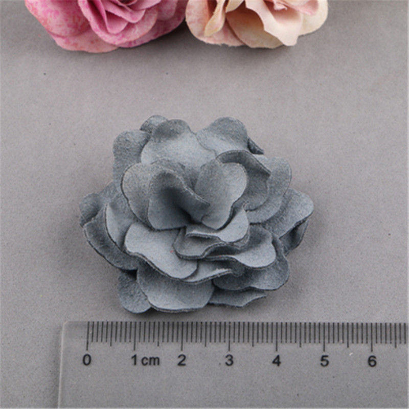 20PCs 5PCs handmade Jewelry Fabric Flowers Patch Sticker Fit for Girls Headband Hair Clips Garment Shoes Ornament Accessory DIY