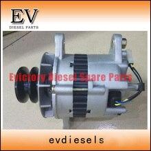 Для Mitsubishi двигателя 6D14 6D14T 6D16 6D16T 6D22 8DC8 генератор/генератор 28V 55A