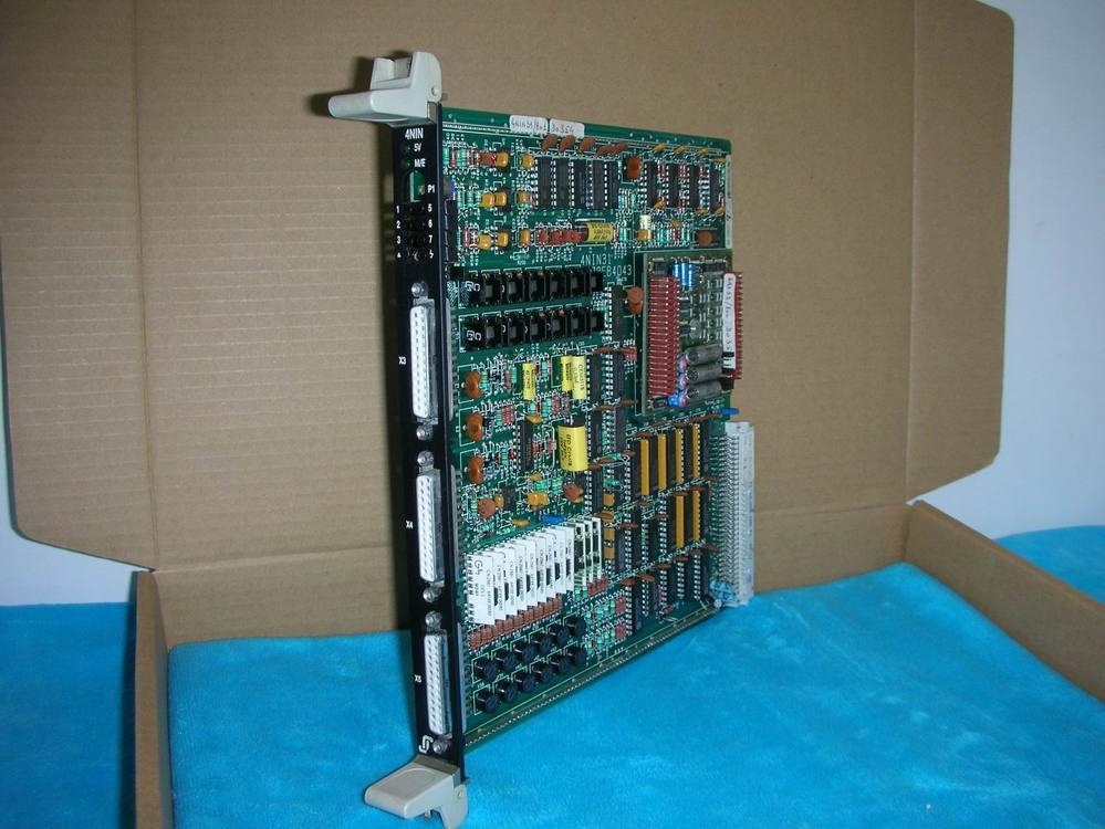 1PC USED System module 4NIN/4NIN31/672EB40431PC USED System module 4NIN/4NIN31/672EB4043