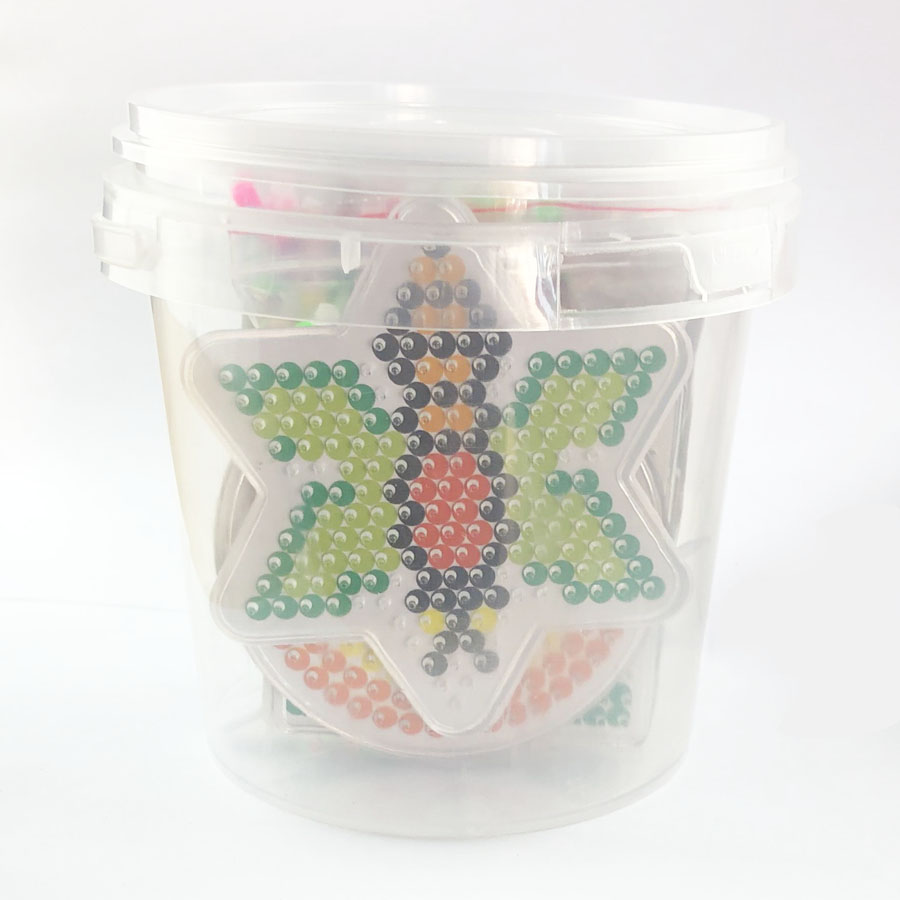 PUPUKOU Beads Set 5mm Hama Beads Small 24 Colors  Box Set Diy Educational Kid's Toy Craft Gift Set PUPUKOU
