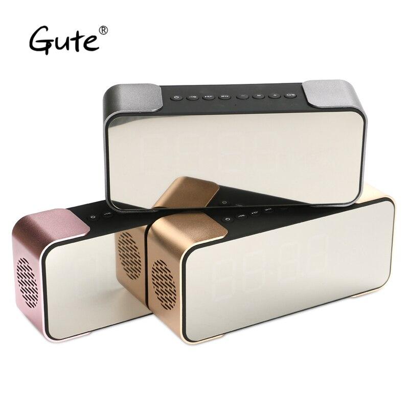 Gute ADLL Stars cool Bluetooth speaker Radio FM Digital display screen portable handle belt sound box caixa de som portatil hot