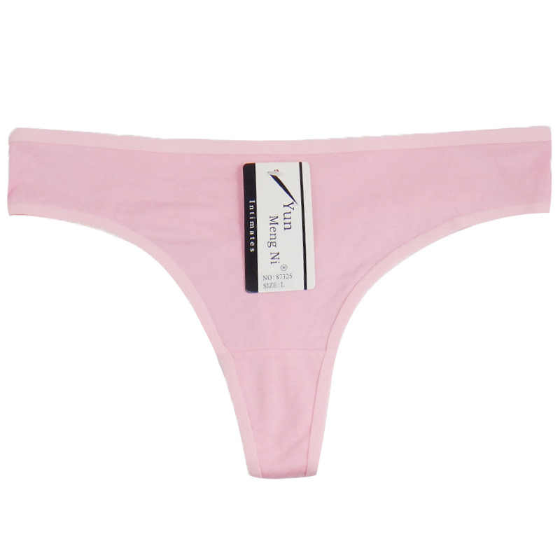 4daccd390 ... Yun Meng Ni Women G-string Thongs Brand Cotton XXXXXXL Woman Underpants  Underwear Lady Panties ...