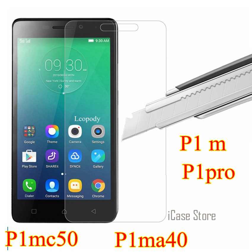 Tempered glass For Lenovo vibe p1m p1 m p1 pro P1mc50 P1ma40 c50 a40 screen protector SKLO GLAS film For Lenovo mobile phone