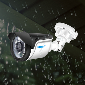 Image 3 - Smar 720 1080p 1080 1080p ahdカメラキット8個屋外cctvカメラシステムir防犯カメラビデオ監視システム8CH dvrキット