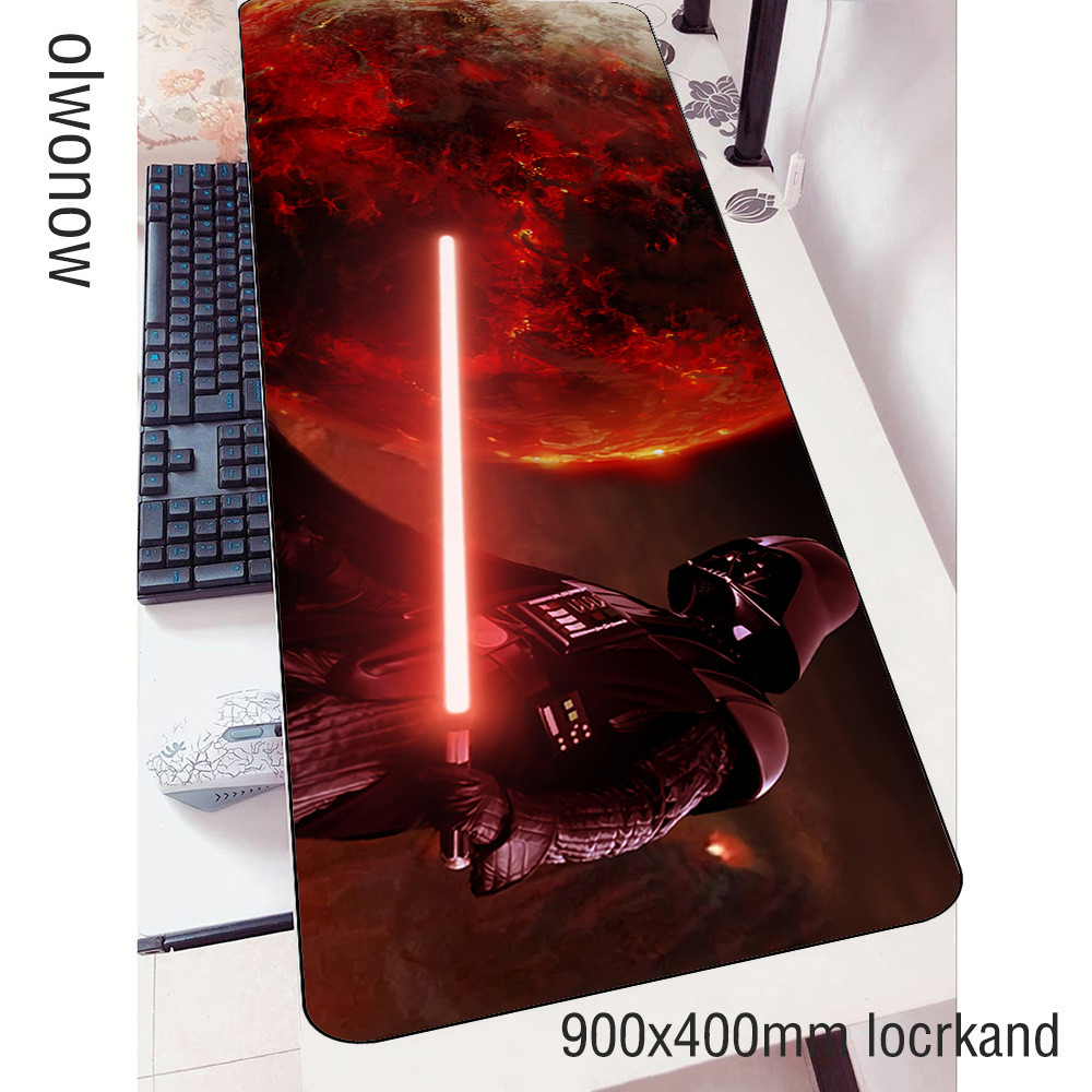 Star Wars Mouse Pad Gamer Esports 900x400mm Notbook Mouse Mat Gaming Mousepad High-end Pad Mouse PC Desk Padmouse Mats