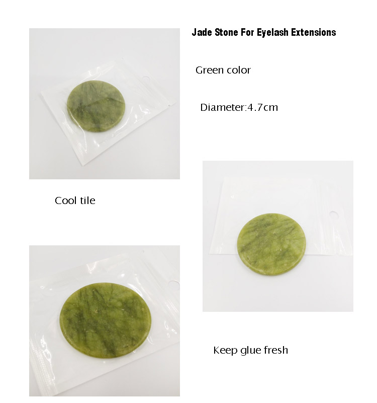 Jade Stone For Eyelash Extensions
