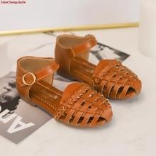 HaoChengJiaDe New Fashion Children Sandals High Quality Kids Girls Beach Sandal