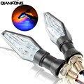 12 LED Motorfiets Super Heldere Indicator Signal Light Lamp Dual Kleur Flexibele Turn Blinker Voor Honda Hornet CB919 CB1000R CB900